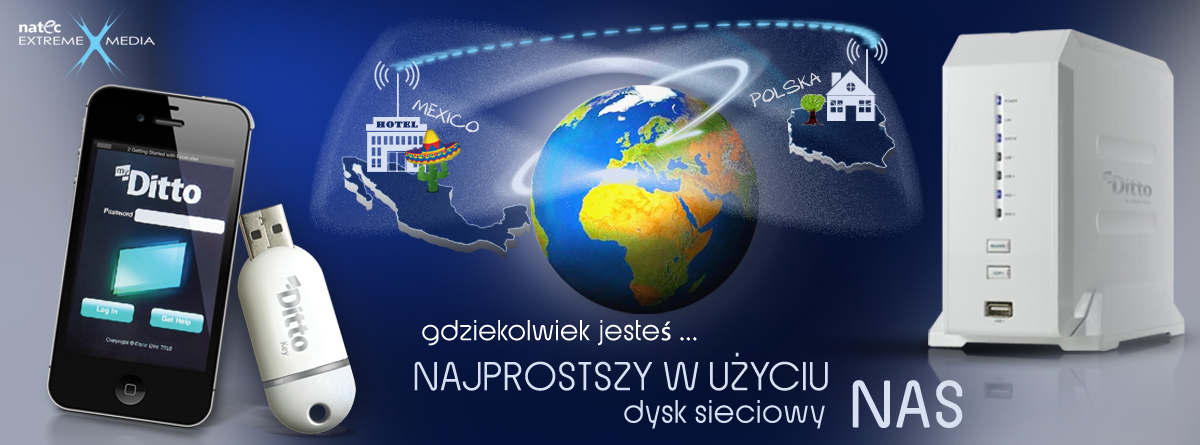 NATEC myDitto- NAS