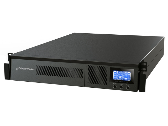 UPS POWERWALKER ON-LINE 1500VA 8X IEC OUT, USB/RS-232, LCD, RACK 19'/TOWER
