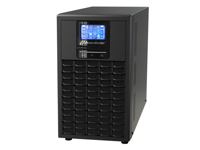 UPS POWERWALKER ON-LINE 3000VA 6X IEC OUT, USB/RS-232, LCD, TOWER
