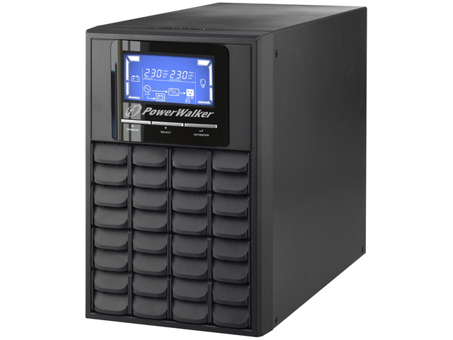 UPS POWERWALKER ON-LINE 1000VA 3X IEC OUT, USB/RS-232, LCD, TOWER