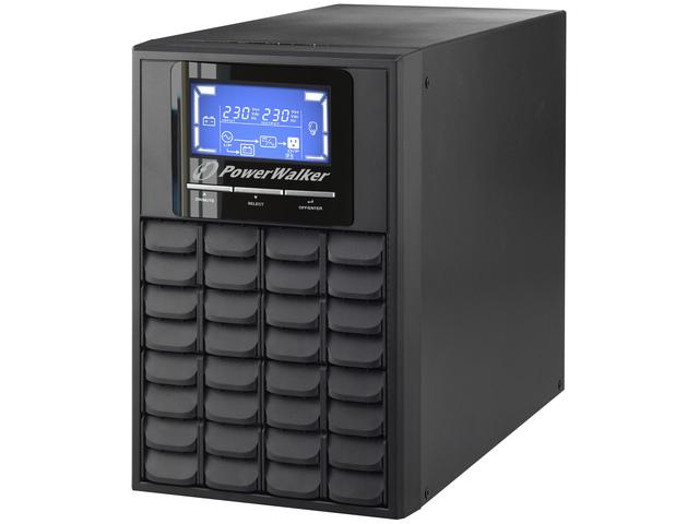 UPS POWERWALKER ON-LINE 1000VA 3X IEC C13, USB/RS-232, LCD, TOWER