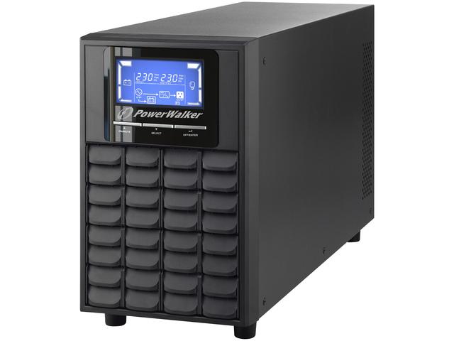 UPS POWERWALKER ON-LINE 3000VA 4X IEC C13, USB/RS-232, LCD, TOWER