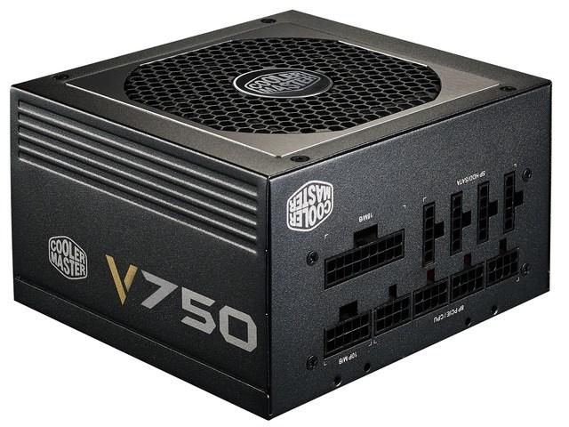 ZASILACZ COOLER MASTER V750 750W MODULARNY 80+ GOLD