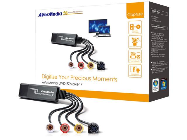 KONWERTER OBRAZU AVERMEDIA DVD EZMAKER 7 USB 2.0