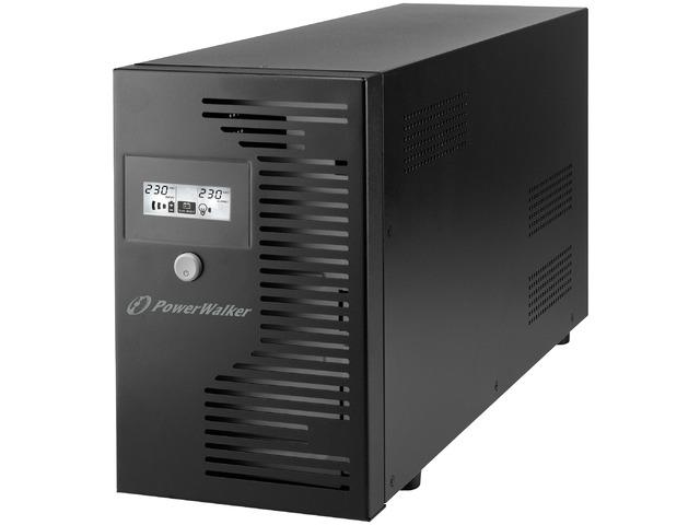 UPS POWERWALKER LINE-INTERACTIVE 3000VA 4X 230V PL , RJ11/RJ45 IN/OUT, USB, LCD