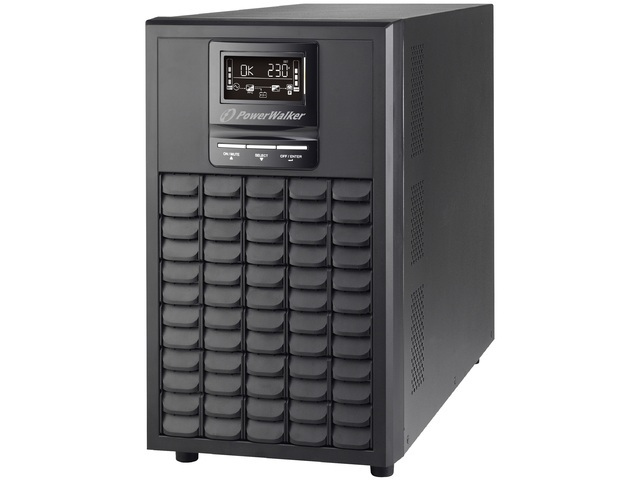 UPS POWERWALKER ON-LINE 1/1 FAZY 3000 VA CG PF1 USB/RS-232, 8 X IEC C13, 1X IEC C19, EPO, TOWER