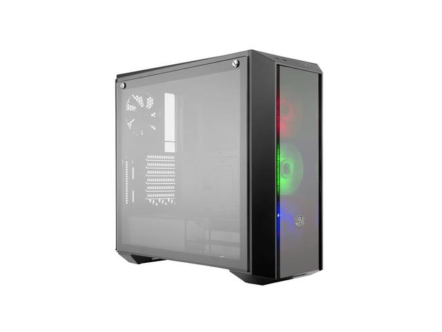 OBUDOWA COOLER MASTER MASTERBOX PRO 5 RGB MIDI TOWER Z OKNEM BEZ PSU WENTYLATOR LED
