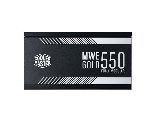 ZASILACZ COOLER MASTER MWE 550W MODULARNY 80+ GOLD