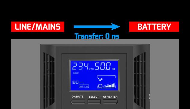 bundle ups on-line tower 2000va + battery pack armac 2