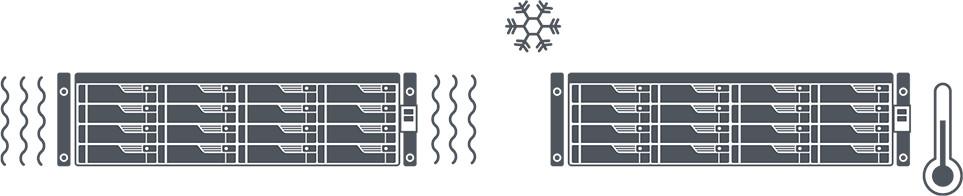 network attached storage 3u rack, 16hdd bay, 2x m.2 slot asustor lockerstor 16r pro as7116rdx 13