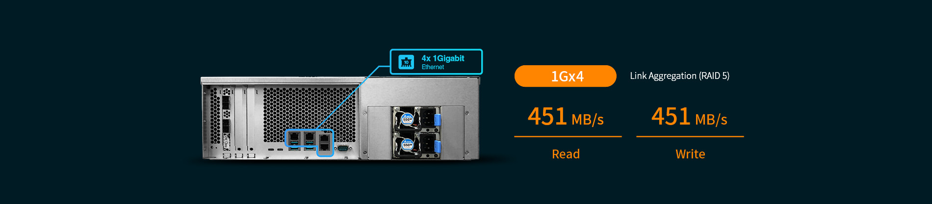 network attached storage 3u rack, 16hdd bay, 2x m.2 slot asustor lockerstor 16r pro as7116rdx 12