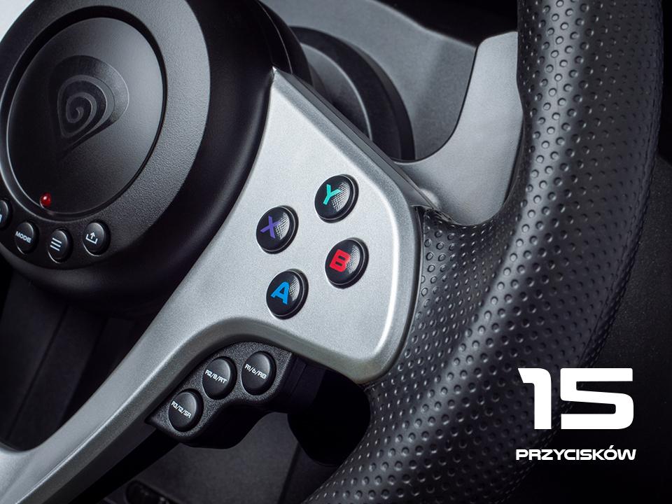 pc / konsol 5 için sürüş tekerleği genesis seaborg 400