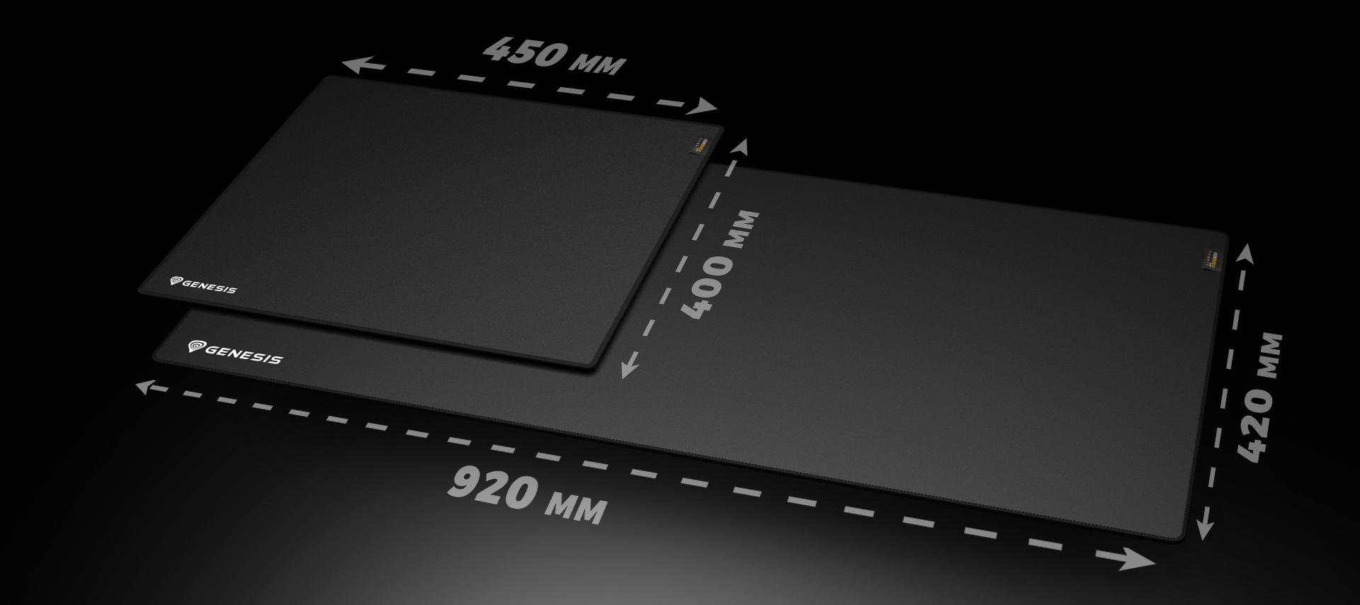 mouse pad genesis carbon 700 700 cordura maxi 900x420 mm 8