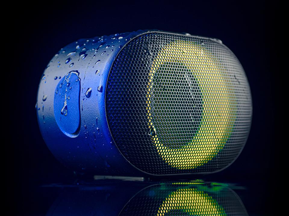 bluetooth speaker audictus aurora mini 7w rgb black 6