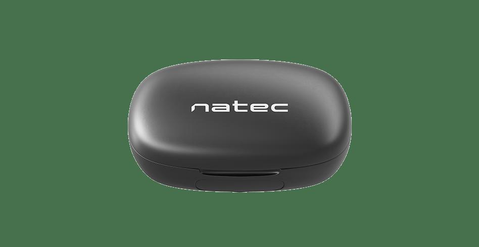 earphones natec soho tws wireless microphone black 8