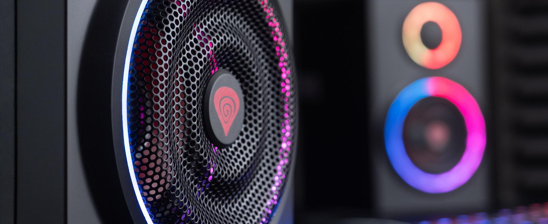 speakers genesis helium 300bt 2.0 bluetooth argb 2
