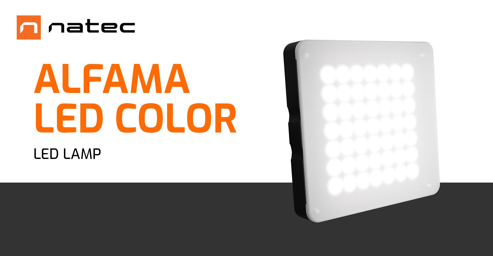 led light natec alfama led color 1