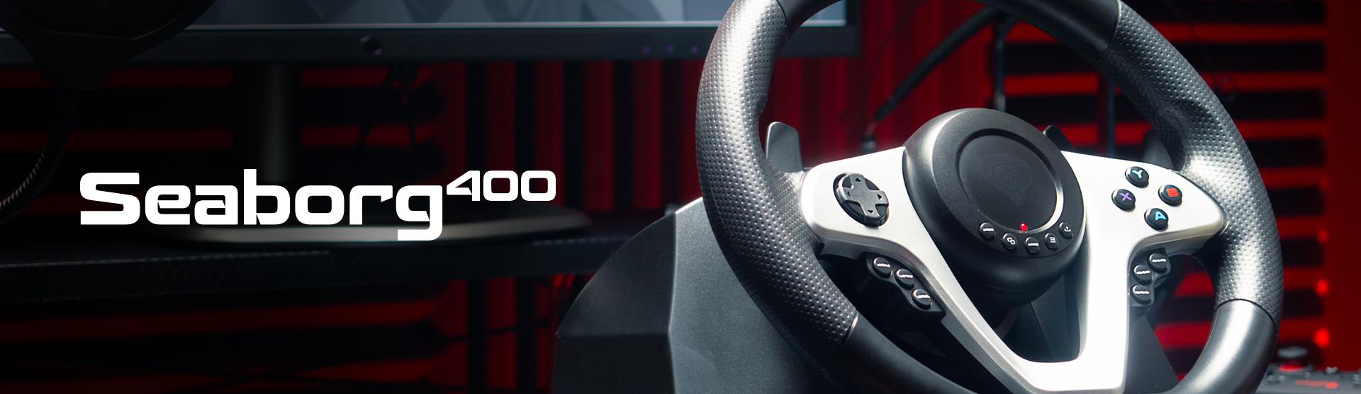 pc / konsol 11 için sürüş tekerleği genesis seaborg 400