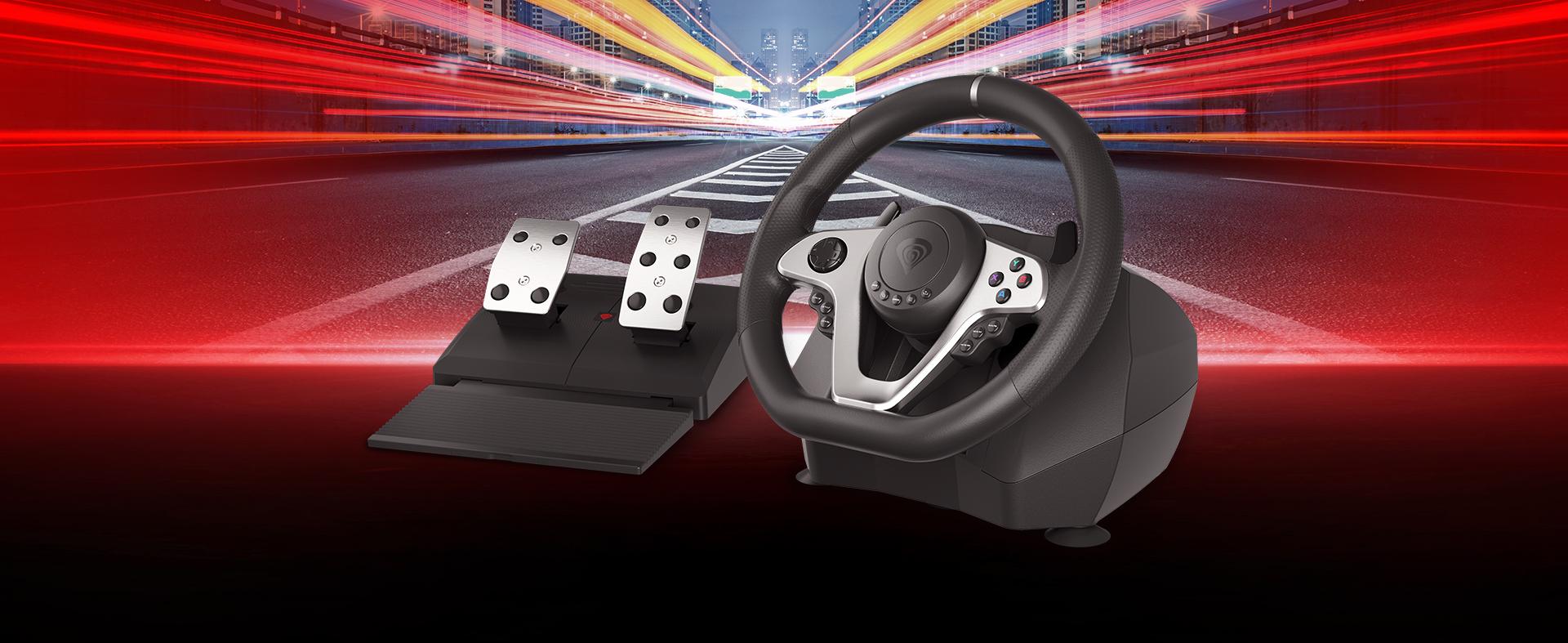 pc / konsol 3 için sürüş tekerleği genesis seaborg 400