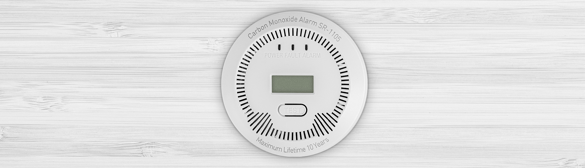 co (carbon monoxide) detector lanberg indoor +bulit-in thermometer 6