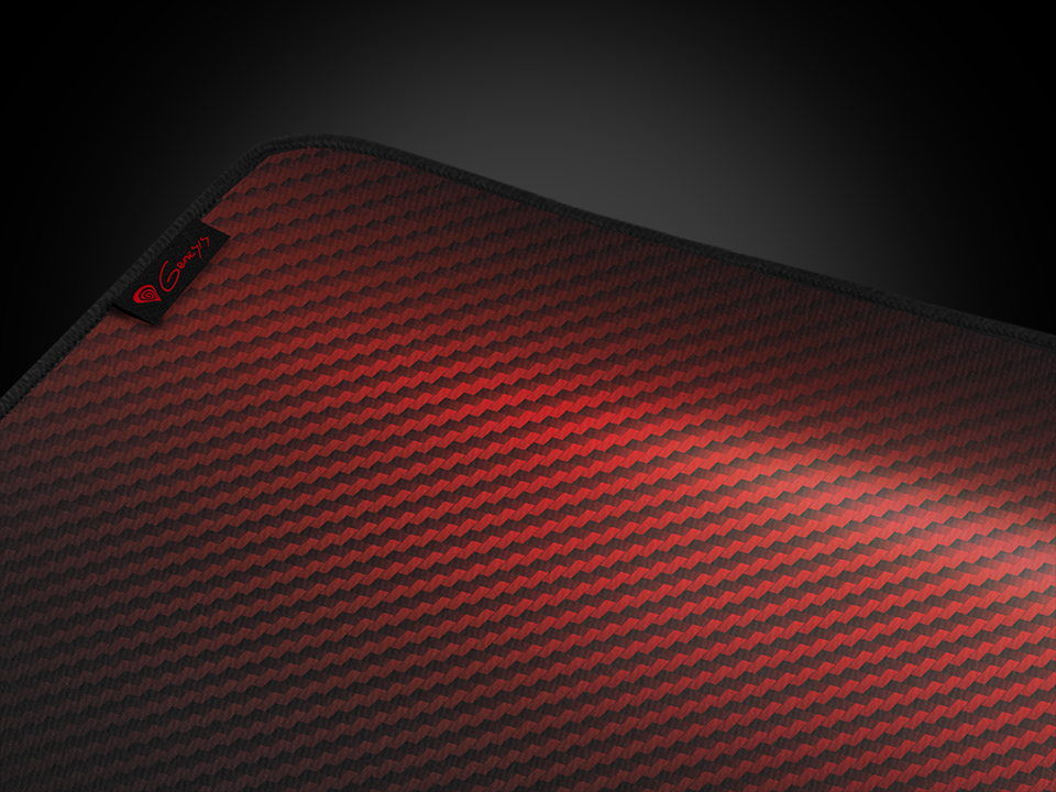 mouse pad genesis carbon 500 ultra blaze 110x45 red 5