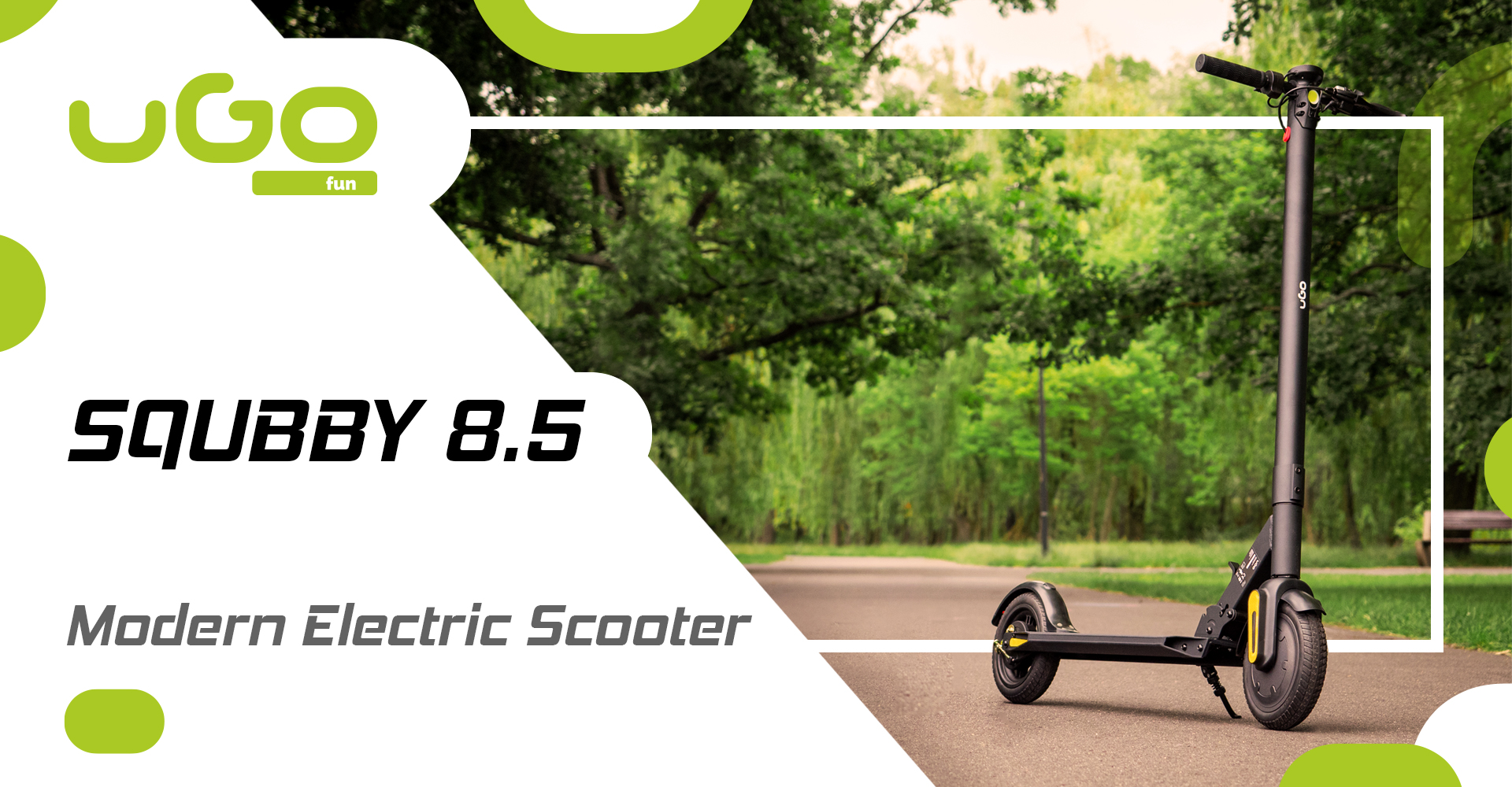 electric scooter ugo squbby 8,5