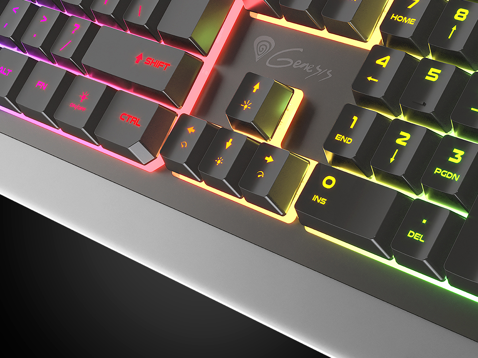 backlit gaming keyboard genesis rhod 300 us layout 7