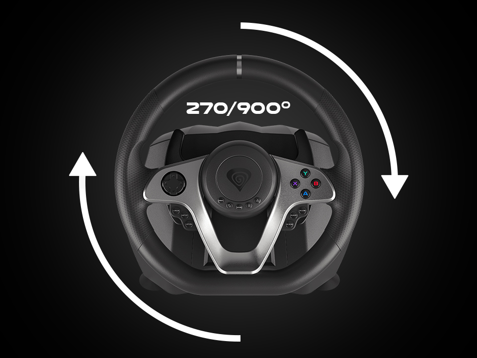 pc / konsol 4 için sürüş tekerleği genesis seaborg 400
