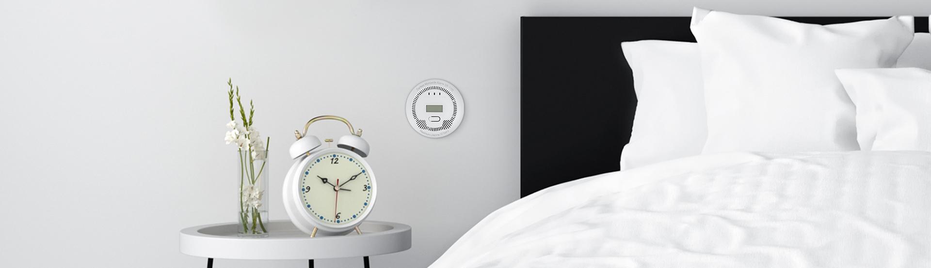 co (carbon monoxide) detector lanberg indoor +bulit-in thermometer 3