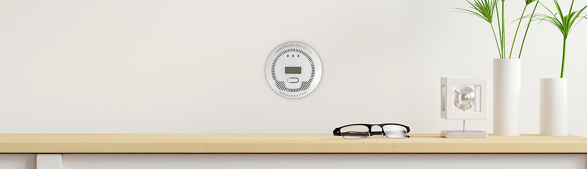co (carbon monoxide) detector lanberg indoor +bulit-in thermometer 4